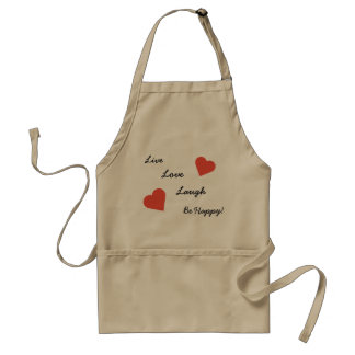 Live Love Laugh Standard Apron
