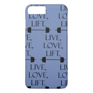 Live, Love, Lift Case-Mate iPhone Case
