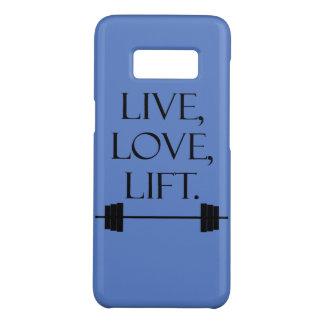Live, Love, Lift Case-Mate Samsung Galaxy S8 Case