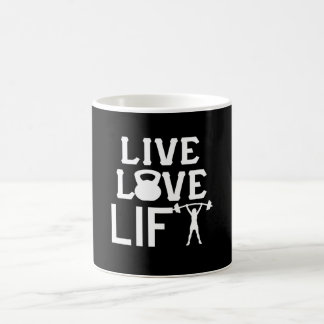 LIVE - LOVE - LIFT COFFEE MUG