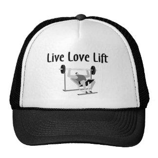 Live Love Lift Hats