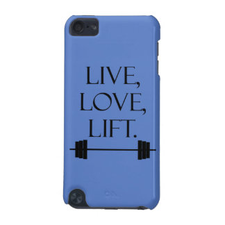 Live, Love, Lift iPod Touch (5th Generation) Cover