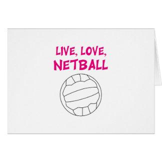 Live Love Netball Card