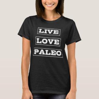 Live Love Paleo Dieting T-Shirt