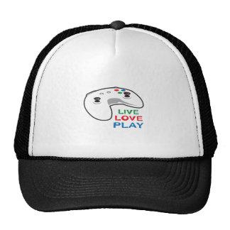 LIVE LOVE PLAY TRUCKER HAT