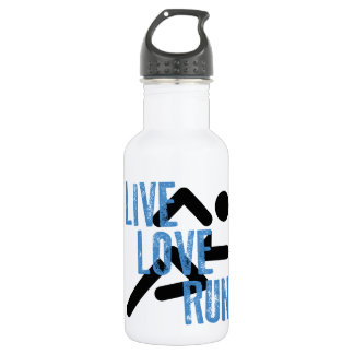 Live, Love, Run 532 Ml Water Bottle