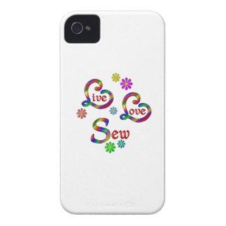 Live Love Sew Case-Mate iPhone 4 Case