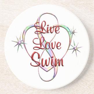 Live Love Swim Coaster