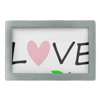 live love teach2 rectangular belt buckles