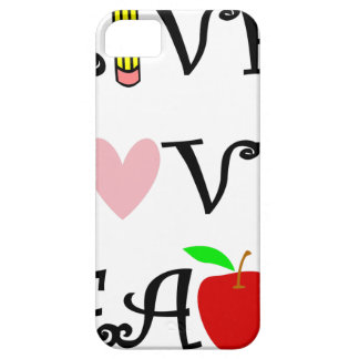 live love teach3 case for the iPhone 5