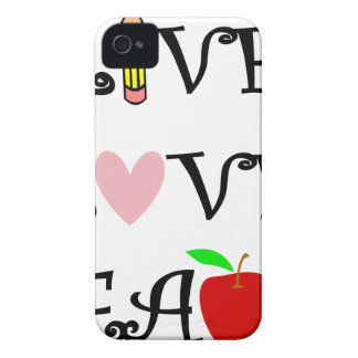 live love teach3 iPhone 4 covers