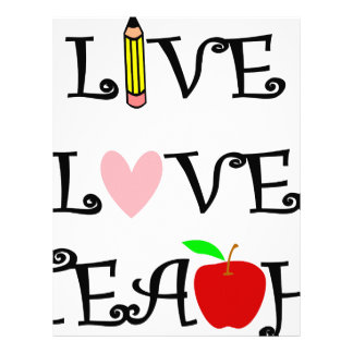 live love teach3 letterhead