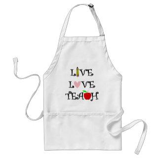 live love teach3 standard apron