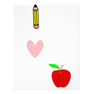live love teach4 letterhead