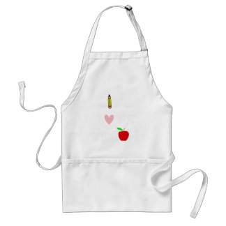 live love teach4 standard apron