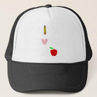 live love teach4 trucker hat