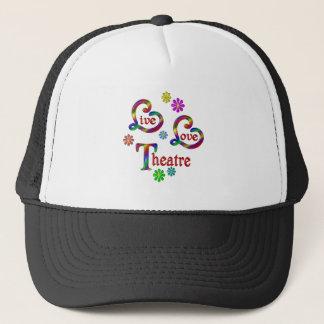 Live Love Theatre Trucker Hat