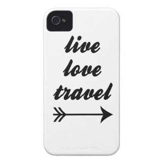 Live Love Travel iPhone 4 Case-Mate Cases