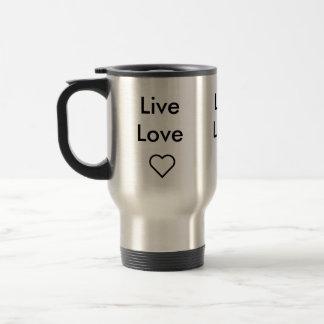 Live Love Travel Mug