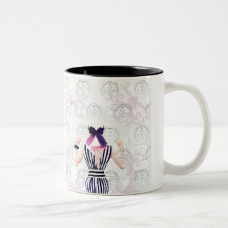 Live & Love Two-Tone Coffee Mug