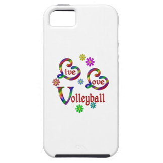 Live Love Volleyball Case For The iPhone 5