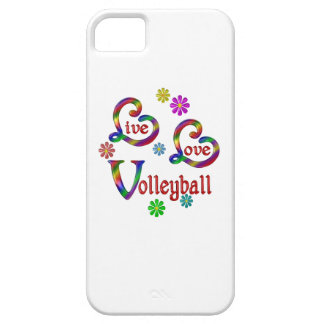 Live Love Volleyball iPhone 5 Cover