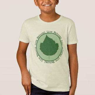 Live Natural Kids Organic T-Shirt
