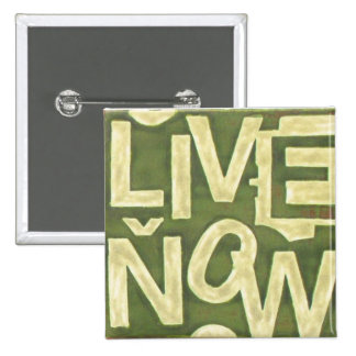 Live Now 2 Inch Square Button