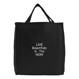 LIVE NOW handbag Canvas Bag