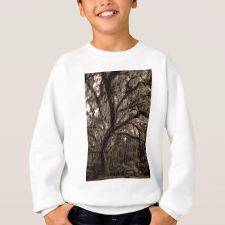 Live Oak and Spanish Moss in Sepia Tones Sweatshirt