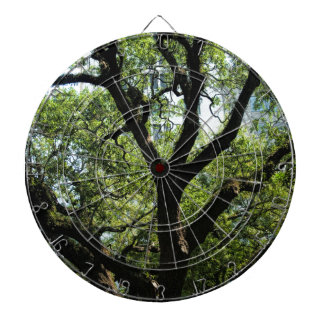 Live Oak In Downtown Savannah Dartboard With Darts