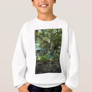 Live Oak Tree and Classic Bicycle Sweatshirt