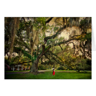 Live Oak Tree in Pascagoula MS Card