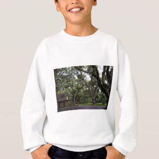 Live Oak Tree With Spanish Moss Sweatshirt