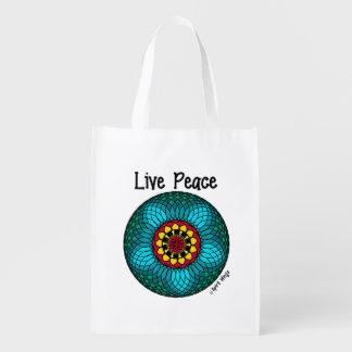 Live Peace Market Tote