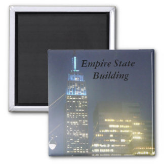 Live Picture of the Empire State Building Magnet