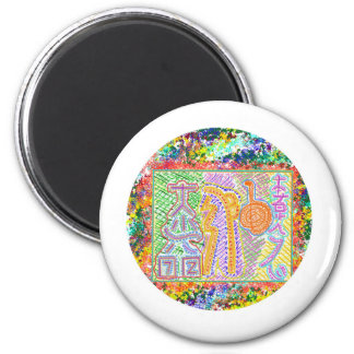 Live Reiki by Master 2 Inch Round Magnet