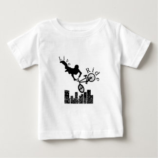 Live, Ride, Freestyle Baby T-Shirt