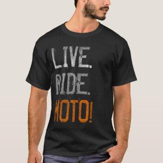 Live. Ride. Moto! (vintage) T-Shirt