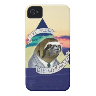 Live Slow Die Whenever iPhone 4 Case