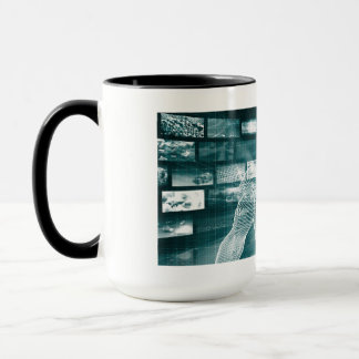 Live Streaming Content Entertainment with Audience Mug