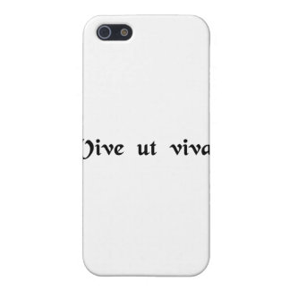 Live that you may live cover for iPhone 5