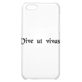 Live that you may live. iPhone 5C cover