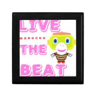 Live The Beat-Cute Monkey-Morocko Gift Box