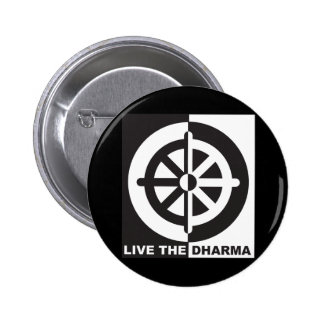 Live the Dharma Button