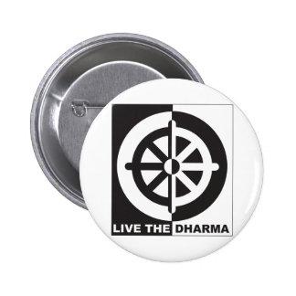 Live the Dharma Pins