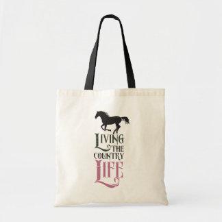 Live the good life tote bag