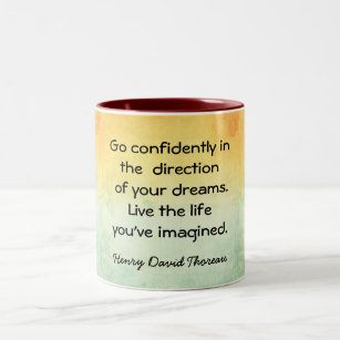 Live the Life --- Coffee Mug