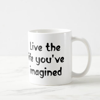 Live the life motivational quotes coffee mugs gift