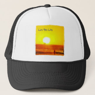 Live the Life Surfer hat